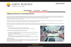 Earth Resource Consulting Inc